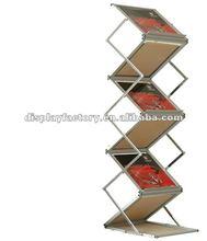 2012 high quality Foldable Brochure Holder,/brochure stand/brochure display