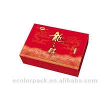 recyclable paper box packging tea