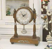 Classic Decorative Table Wooden clock