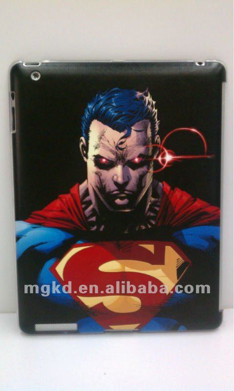 customize any design for 3D carven ipad case