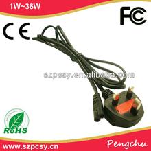 UK plug ac cable