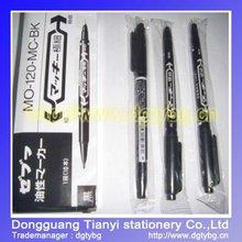 Double head Marker pen magic plastic marker pens clothes marker pen