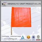 lighted Orange Safety Flag