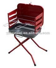 Folding Charcoal Barbecue Grill #B2036B