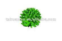hedgehog squeaky vinyl dog toy ball