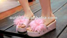 women flat sandals 2012 guangzhou product girl's shoes GPh309