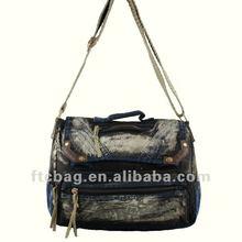 Unisex fashion canvas cotton conference bags