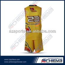 custom sublimation basketball short