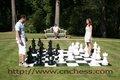 Jogo de xadrez tamanho gigante