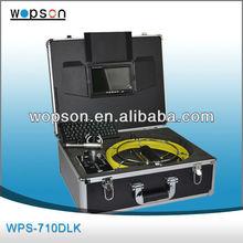 tecnico idraulico e di scarico servizio di ispezione fotocamera con 512hz sonda
