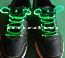 2012 Hot Sell Led Shoelace Charm Led Shoelaces