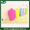 Colorful Lady/Girl/Women Silicone Pouch Wallet Purse Cover Card Holder Phone Key Coin cosmetic