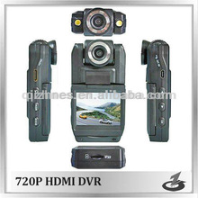 720P HD car camera recorder with 2 led diodes