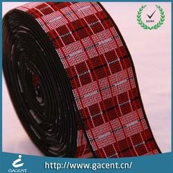 Jacquard elastic webbing for underwear