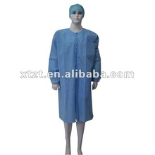 Natural latex free disposable nonwoven surgical gown(Disinfection) made of sms used in hospitals