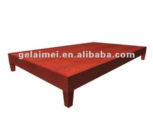 durable wooden bed