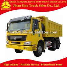 SINO man diesel dump truck 6*4 with low price