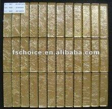 glitter golden glass mosaic tile art & craft