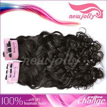 "Unprocessed Vigin Hair AAA Grade Virgin peruvian Hair 12""-24"" , Machine Weft Hair Extension"