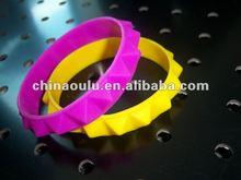 2012 custom silicone wristband