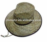 fashion mens cowboy straw hat