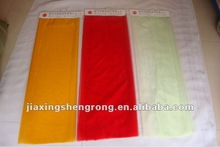 dyed tulle/ organza in high quality