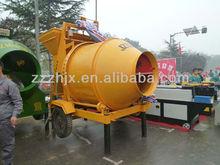 JZC350 self loading portable concrete plant