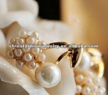 Fashion Bridal Big Pearl Earrings 2012