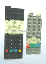 2012 The new design silicon rubber keypad made in Dongguan