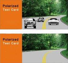 polarized sunglasses test cards