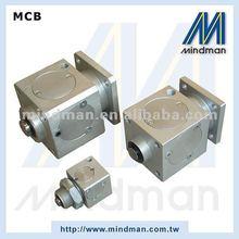 Mindman aluminum pneumatic cylinder double acting standard cylinder for gate valve, MCB series