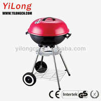 Charcoal bbq grill stand