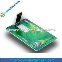 card shape usb flash drive,christmas gift,free sample