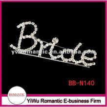 bridal letter diy brooch