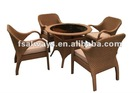 2012 poly new rattan outdoor furniture AWS00147