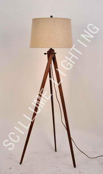 categories iron floor lamp antique style 3 legs wooden floor lamp. Black Bedroom Furniture Sets. Home Design Ideas