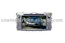 FORD Focus Touch Screen Car DVD GPS with CAN-BUS, IPOD, Bluetooth, GPS, Radio, DVB-T, ATSC, STERING WHEEL CONTROL