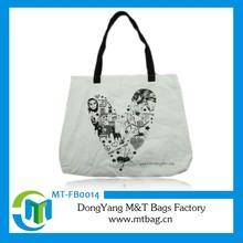 New simple custom design durable cotton bags unique canvas tote bag