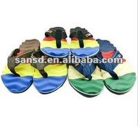 2013 Summer Beach slippers flip flops | Plastic sandals for men