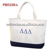 2012 fashion Give away free canvas bag