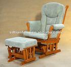 Leisure Padded Cushion Rocking Chair