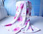 Soft Printed Coral Fleece Blanket