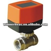 HVAC system,water treatment,2-way DC Motorized Ball Valve