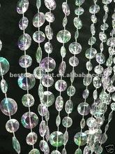 Multi Diamond Cut Acrylic Crystal Beaded Curtain