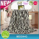 Polyester Animal Printed Mink Blanket
