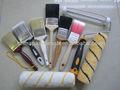 pincéis e rolos de pintura
