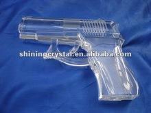 high quality crystal gun model