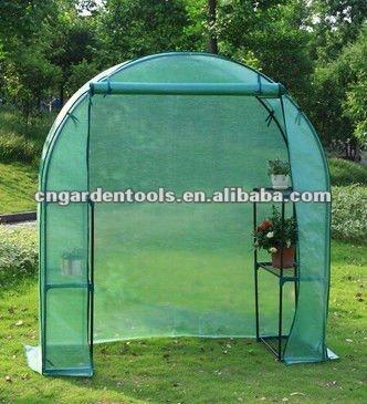 New PE Circle Top Walk-in Greenhouse,intelligent greenhouse,warm greenhouse