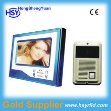 7''TFT handsfree type /door lock open /camera monitoring/video intercom system