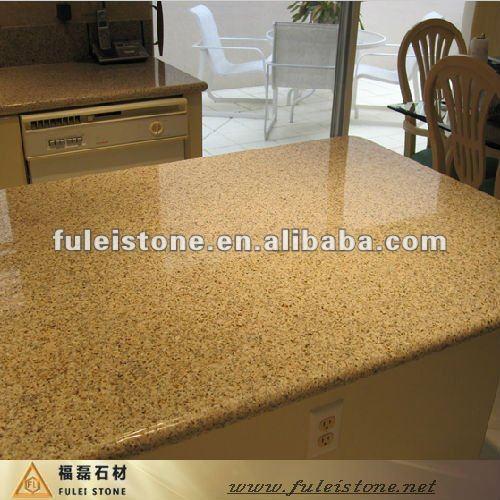 Oscuro de color beige granito encimeras de ba o y for Colores de granito para cocinas blancas